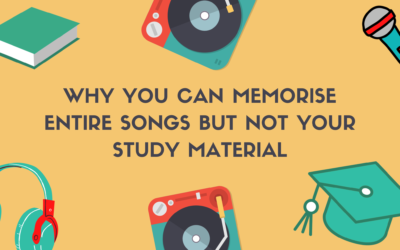 Why You Can Memorise Entire Songs But Not Your Study Material
